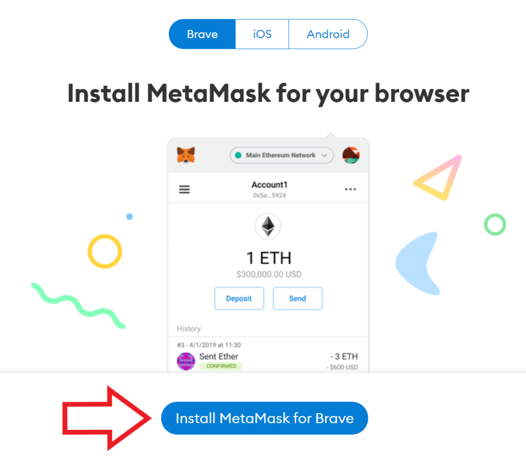 instalar la extension de metamask