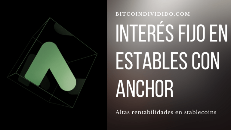 Interes fijo en estables en Anchor Protocol